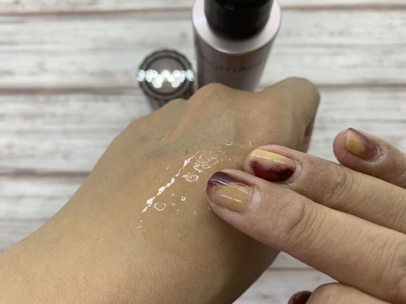 ブライトエイジ化粧水伸ばす