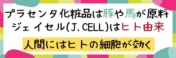 プラセンタとヒト幹細胞培養液の違い