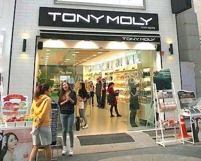 TONY MOLY店舗